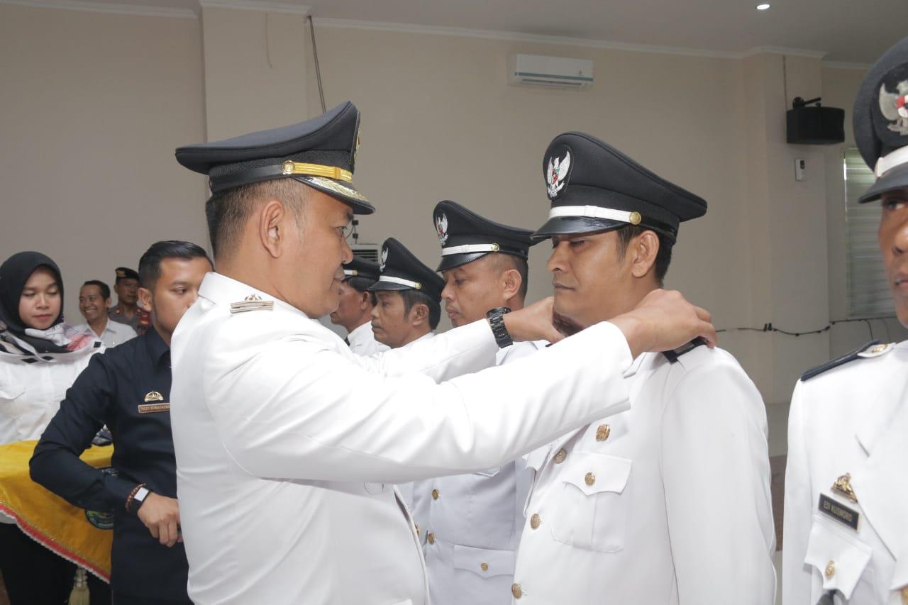 Kasi Transtib Kelurahan Pringsewu Timur di Tunjuk Menjadi Pejabat Kepala Pekon.